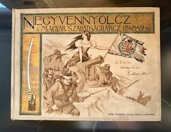 A Magyar Szabadságharcz 1848 - 49 - ben