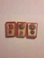 Szocialista brigád kitüntetések.