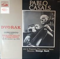 PABLO CASALS  DVORAK CSELLÓVERSENY     LP  BAKELIT LEMEZ  VINYL