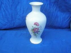 Formás hollóházi virágos váza