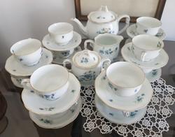 12 személyes teás készlet, Pirken Hammer nem Herendi!