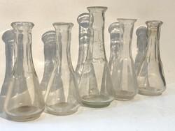 Régi porciós üvegek