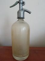 Régi Csepeli szódásüveg