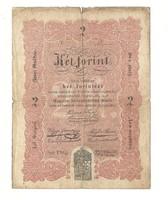 1848 as 2 forint Kossuth bankó papírpénz bankjegy 48 49 es szabadságharc pénze phq