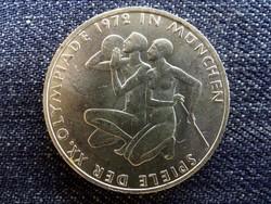 Németország 1972-es müncheni olimpiai játékok atléták .625 ezüst 10 Márka 1972 D (id14154)