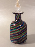 Muránói Linea Valentina egyedi kézműves parfümös üveg gyönyörűség