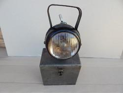 Vasutas bányász lámpa.