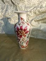 Zsolnay Orchidea mintás váza.
