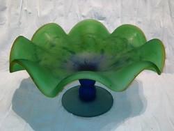 Szép üveg asztalközép