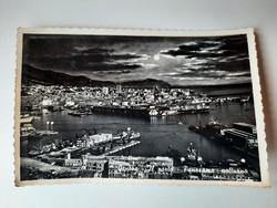Retro levelezőlap, képeslap, Genova