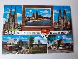 Retro levelezőlap, képeslap,Köln