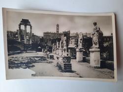 Antik levelezőlap, képeslap, Róma, Forum Romanum