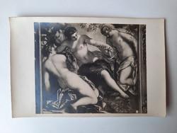 Antik levelezőlap, képeslap, művészeti lap