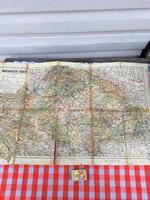 Magyarország térképe a trianoni határok feltüntetésével - Kogutowicz Károly - Magyar Földrajzi