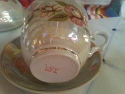 Porcelán retro orosz teás ? kávés csésze tányér