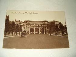 1923 régi képeslap London the new Archway the Mall London pecsételt futott KIÁRUSÍTÁS