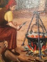 Balla Sándor festménye