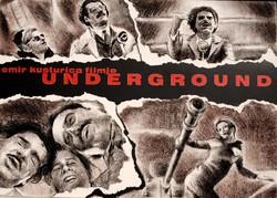 Kusturica: Underground - plakátterv, egyedi grafika