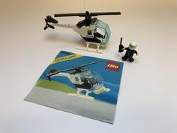 LEGO 6642 - Rendőr Helikopter + Leírás - 1988-ból