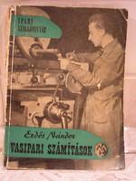 Erdős Nándor - Vasipari számítások  - 1961