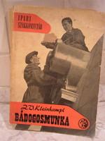 Zdenek V. Kleinhampl - Kollányi Béla- Mózes Sándor - Bádogosmunka - 1962
