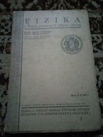 Fizikai tankönyv  !! 1926  !!