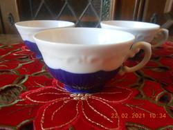 Zsolnay Pompadour alapmázas kávés csészék