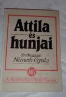 Eckhardt Sándor  Attila és hunjai  1940-es kiadásának reprintje(1986)