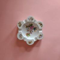 Herendi Viktória mintás porcelán hamutál