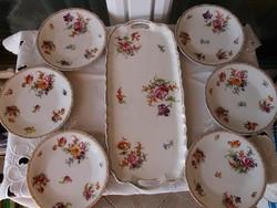 Régi süteményes készlet