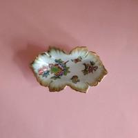 Herendi Viktória mintás porcelán tálka
