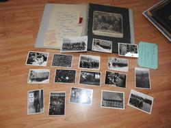 Emlékek egy német katonától - fotók, újságcikkek, igazolások