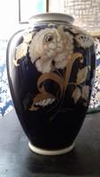 Wallendorf Gold váza