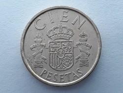 Spanyolország 100 Pezeta 1986 - Spanyol 100 Pesetas 1986 külföldi pénz, érme