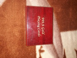 Aranyozott pokerkártya csomag eladó