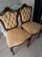 Bécsi barokk szék párban