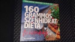 Vrábel Krisztina: 160 grammos szénhidrátdiéta 1.- 2. 5900.-Ft