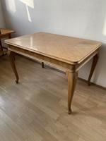 Barokk dohányzó asztal kis asztal