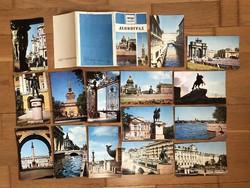 1970 -es orosz képeslapok, tömb, sor