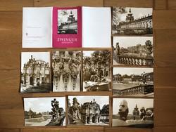 DREZDA képeslapok, tömb, sor 1981-es