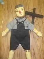 Fa marionett pinokkió báb