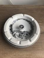 Hollóházi porcelán szász endre hamuzó kináló