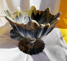 Kalcedon madaras kináló, asztalközép