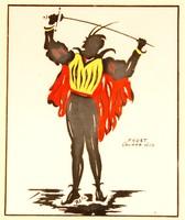 """Rola: """"Faust"""" Gounod, 1859 - színes litográfia, keretezve"""