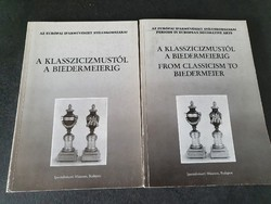 Iparművészeti Múzeum - A klasszicizmustól a biedermeierig 2 kötet