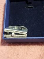 Vastag különleges ezüst gyűrű 16g újszerű