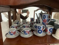 Utánozhatatlan NDK porcelán kávés ( mokkás) készlet