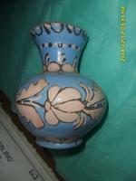 Lázi János HMV hódmezővásárhelyi népi szecessziós  kis váza