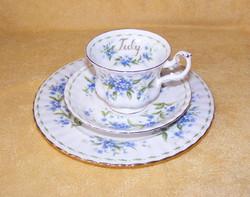 Royal Albert július porcelán reggelizőszett