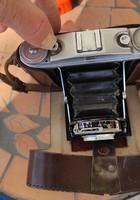 Fotógép antik , fényképezőgép,harmonika rendszerű, jelzett.Agfa Isolette típusú!.Becsukható élethű.
